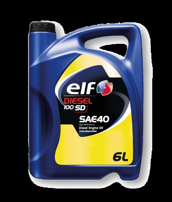 น้ำมันเครื่อง ELF Diesel 100 SD SAE-40