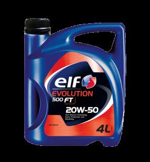 น้ำมันเครื่อง ELF Evolution 500 FT 20W-50