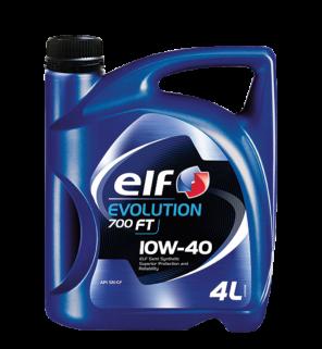 น้ำมันเครื่อง ELF Evolution 700 FT 10W-40