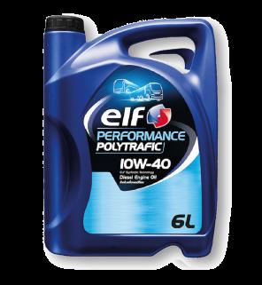 น้ำมันเครื่อง ELF Performance Polytrafic 10W-40