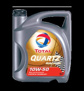 น้ำมันเครื่อง TOTAL QUARTZ RACING 10W-50, 10W-60