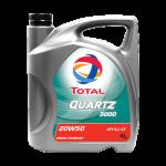 น้ำมันเครื่อง Total Quartz 3000 20W-50