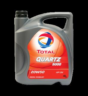 น้ำมันเครื่อง Total Quartz 5000 20W-50