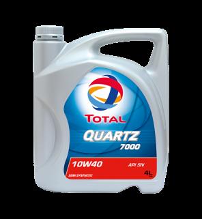 น้ำมันเครื่อง Total Quartz 7000 10W-40