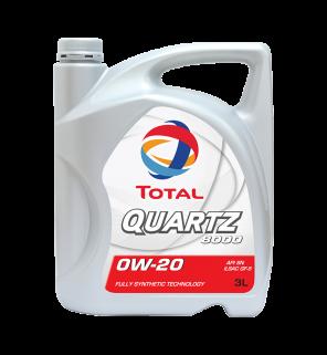 น้ำมันเครื่อง Total Quartz 8000 0W-20