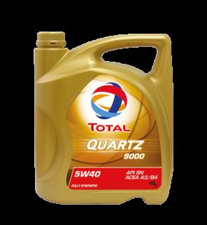 น้ำมันเครื่อง Total Quartz 9000 5W-40
