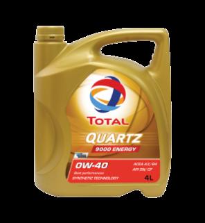 น้ำมันเครื่อง Total Quartz 9000 Energy 0W-40