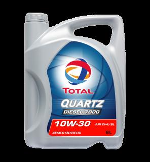 น้ำมันเครื่อง Total Quartz Diesel 7000 10W-40
