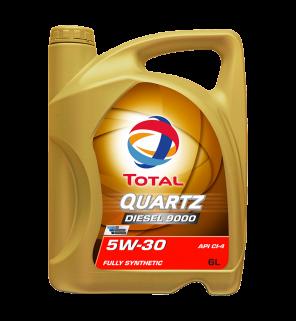 น้ำมันเครื่อง Total Quartz Diesel 9000 5W-30