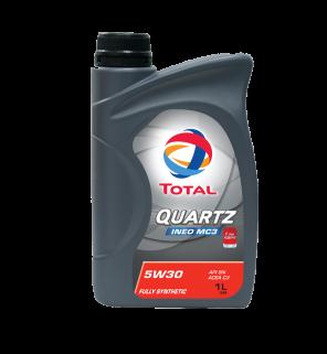 น้ำมันเครื่องTotal Quartz INEO MC3 5W-30